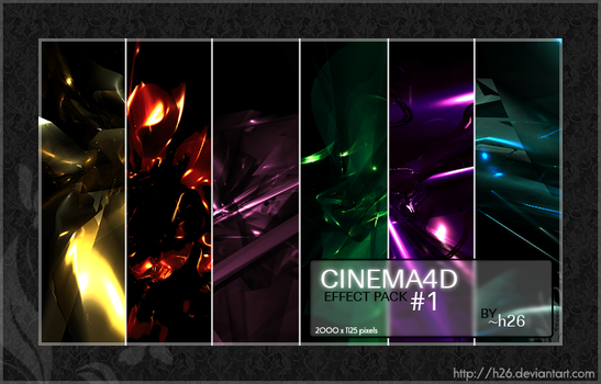 C4D Effect Pack 1 by h26