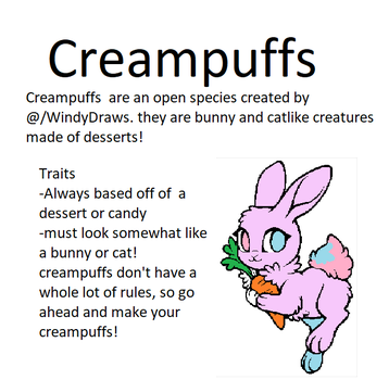Creampuff Open Species Rules by WindyDraws