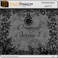 Ornaments part 2 brushes by BuburuResources
