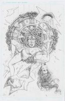 Ancient Dreams Issue #1 Cover Pencils by Dawn-McTeigue