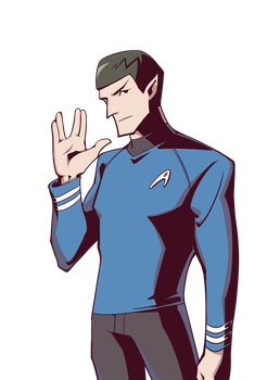 PV Series ST TOS Spock by woshibbdou