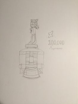 Completed 100,000 Pageviews (WIP) by SonicUS1000
