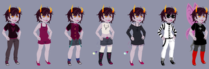 Lariss Outfits by vorpos