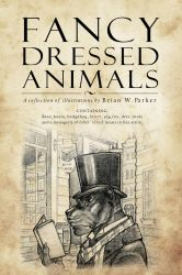 Fancy-Dressed-Animals book-cover by Briansbigideas
