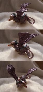 Little dragon- another views by Victoria-Poloniae