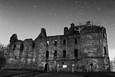 Balvenie Castle at Night by mosherte