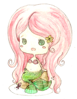 Chibi Little Mermaid by Litchling