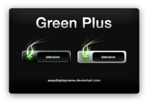Green Plus by easydisplayname