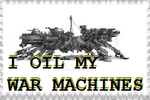 Oil my War Machines stamp by PioneeringAuthor
