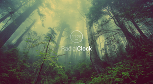 RadialClock 1.02 by PVOIJEN