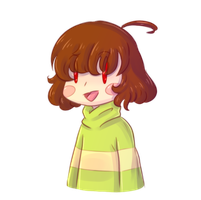 Just Chara (Undertale) by Pony-Ellie-Stuart
