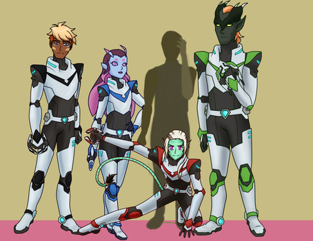 Voltron Team WIP 4 by TheLocked