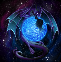 Commission: Kosmos the Dragon of Space by Cryophase