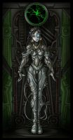 princess borg in alcove  -comm by nightwing1975