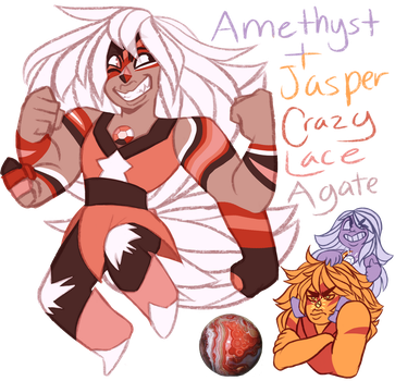 FT - crazy lace agate by TheZodiacLord