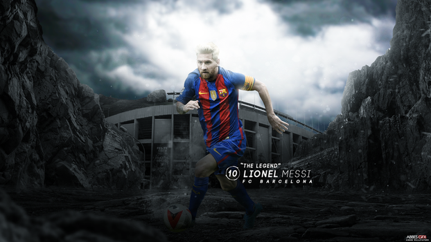 Lionel Messi Wallpaper 2016/17 by Abbes17