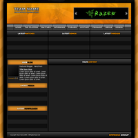 For Sale: Orange Esports Site by Henchman3