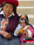 Tibetan woman and child by CultureQuest