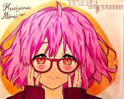 Beyond the Boundary - Mirai Kuriyama by EraOfTheFallen
