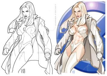 Emma Frost 2 by mikems71