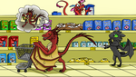 Dragons at a Normal Grocery Store by DragonDrawer102