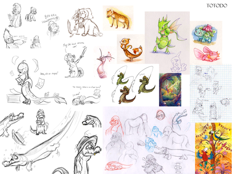 Sketchdump III by Frozenspots