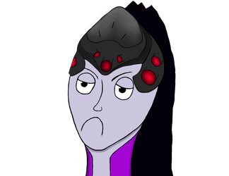 Cute little Widowmaker by CitoVorleone