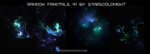 Random Fractals 41 By Starscoldnight by StarsColdNight
