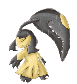 Mawile used Rain Dance by Hedgey