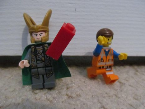The Adventures of Lego Loki 20: New Weapon by crystal-of-ix