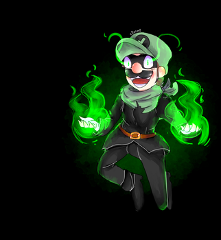 The Green Thunder Strikes Again! by C0ZZM0