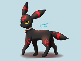 Request: Omen the Umbreon by BluuKiss