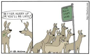 The Buck Stops Here by ibnelson