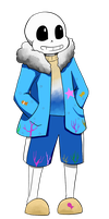 [Request] Oceantale!Sans by Maxlad