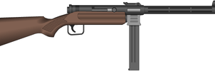 Submachine Gun, 9x19mm, Sev. Standard Model 1937 by Sev-777