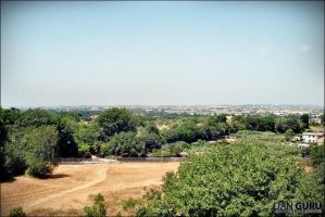 View from the Villa Adriana by RoqqR
