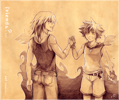 KH: Friends?... by Anyarr