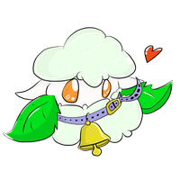 Cottonee with Bell