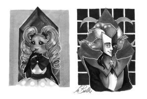 Copycat and Jester by LittleSakis-Aubade