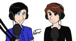 You're Listening To Dan and Phil On BBC Radio 1 by WaterElement33