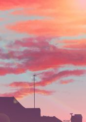 Sky and coud practice by msshanh