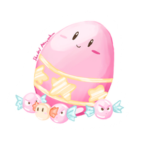 Kirby Easter Egg by ShadedPenumbra