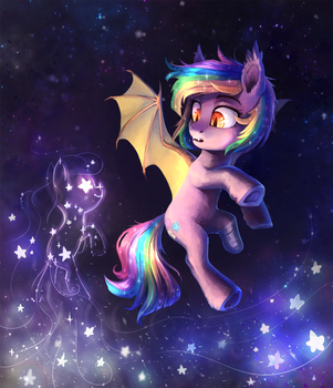 Who are you, little star-pony? by DearMary