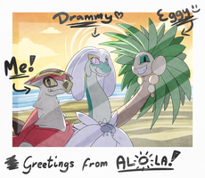 Greetings from Alola!