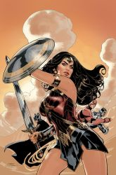 Wonder Woman 34 Cover by TerryDodson