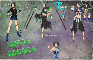 ENVIA UEHARA OC PROFILE AND REFERENCE by Envy4hearts
