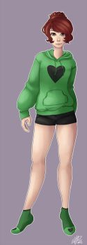 Green Sweater *Commission* by CovertMermaid