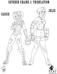 Group - 2K18-08-17 - Julie  Cassie (SC2) Linework by JakeAStrife
