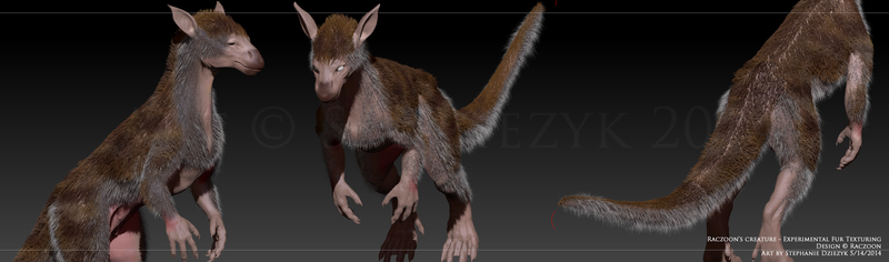 Raczoon's Critter - Fur Testing by LeccathuFurvicael