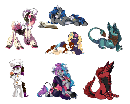 [Commission] Commission Batch 1 by StyxLady